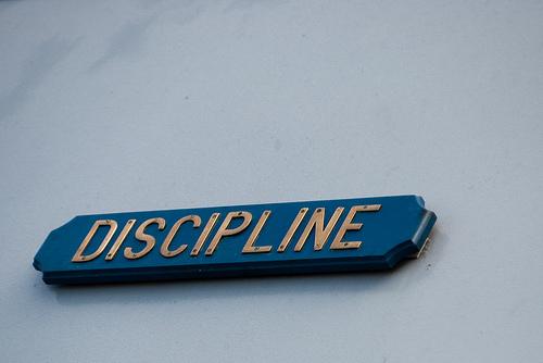 Discipline is