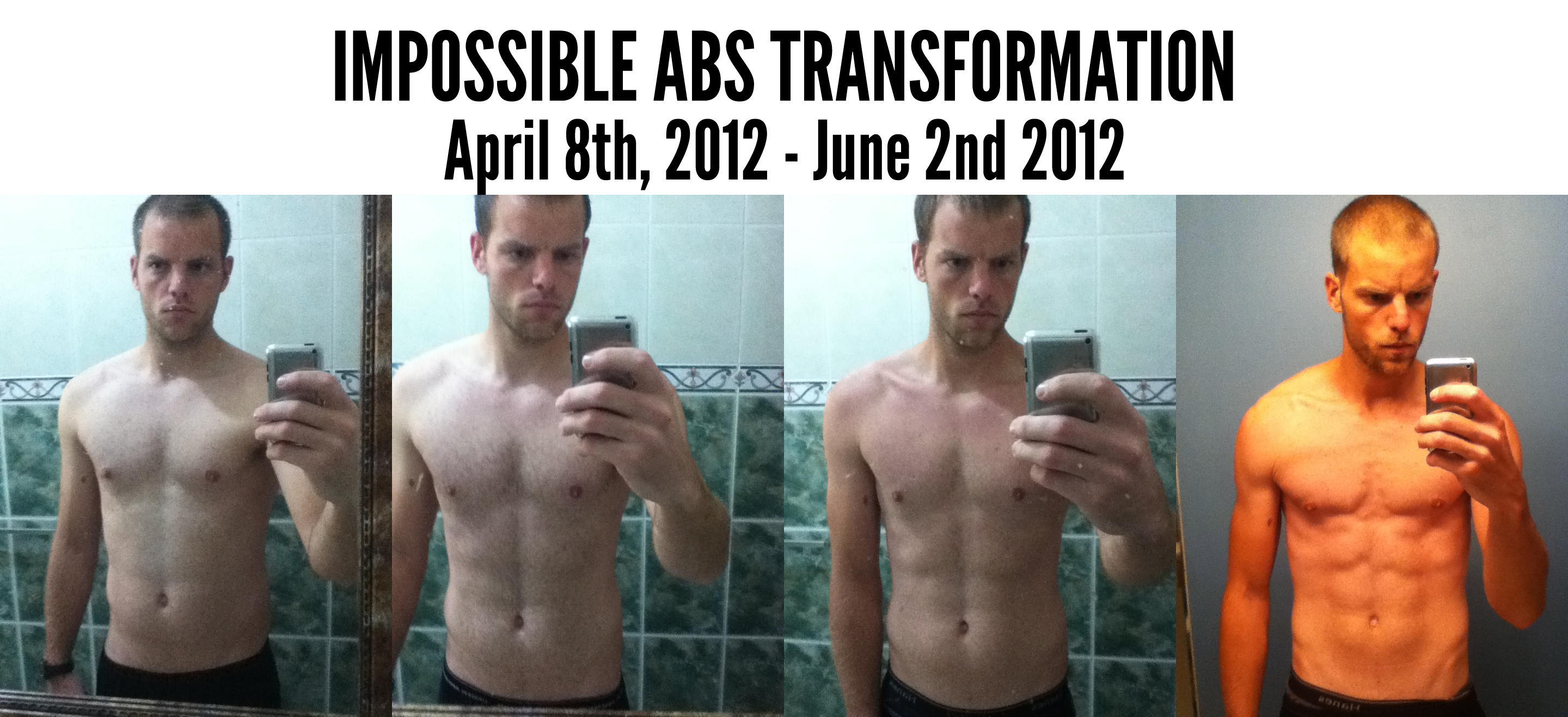 34 Pounds In 8 Weeks: How I Got 6 Pack Abs and Dropped to