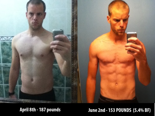 34 Pounds In 8 Weeks How I Got 6 Pack Abs And Dropped To 5 4 Body