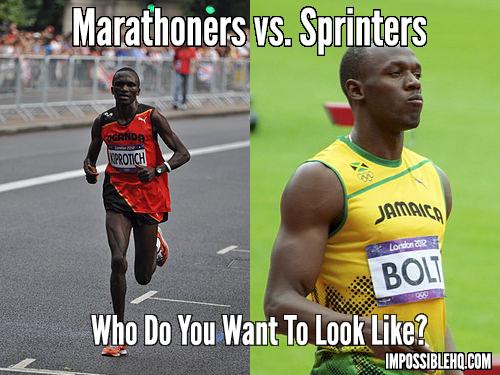Marathoners vs. Sprinters