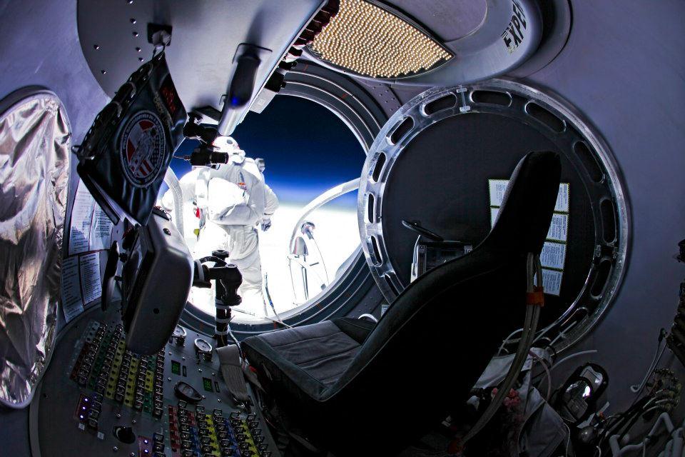 Felix Baumgartner Space