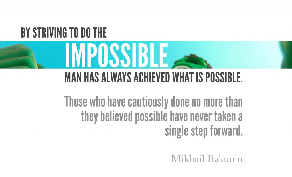 with man it is impossible