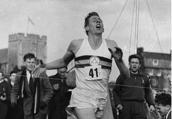 roger bannister 4 minute mile Bannister clocked 3 minutes, 594 seconds over four laps on an oxford track on may 6, 1954, one of the defining sporting achievements of the 20th century.