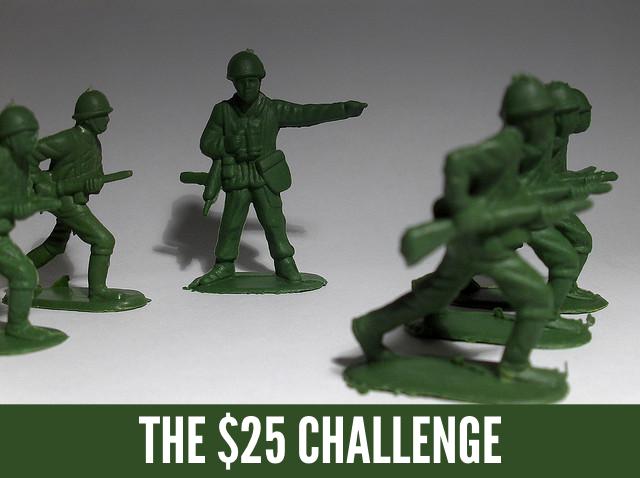 $25 Challenge