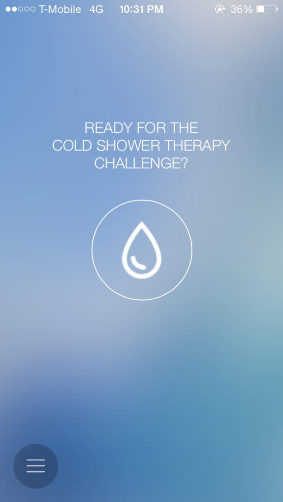 Cold Shower Therapy for iOS is Brand New