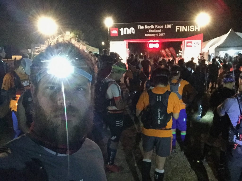 thailand north face 50k start line