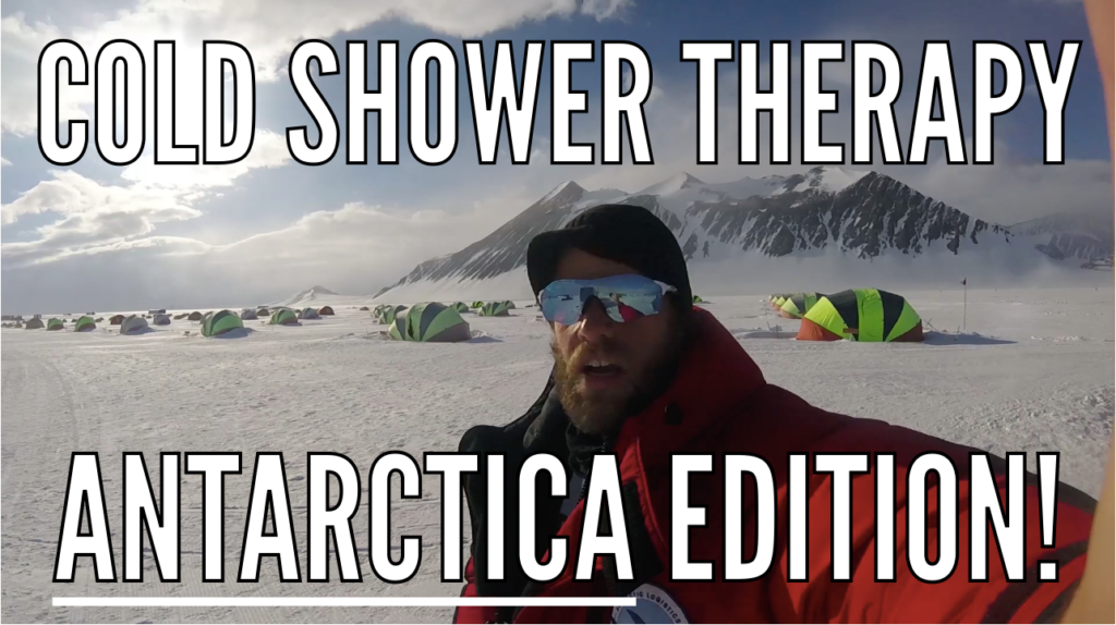 Taking a Cold Shower in Antarctica