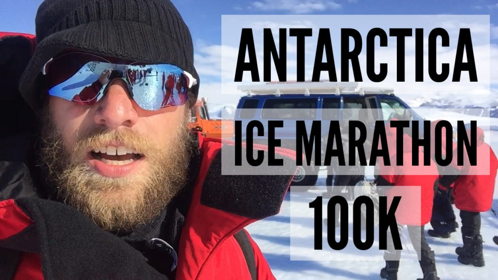 The Antarctica Ice Marathon 100k Video