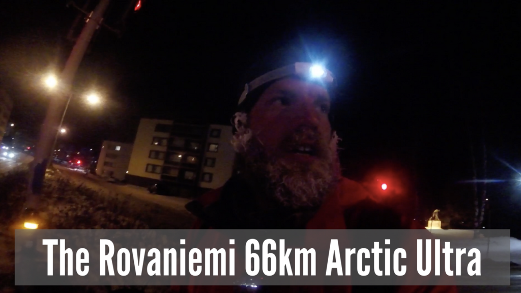The Rovaniemi 66km Arctic Ultra Video