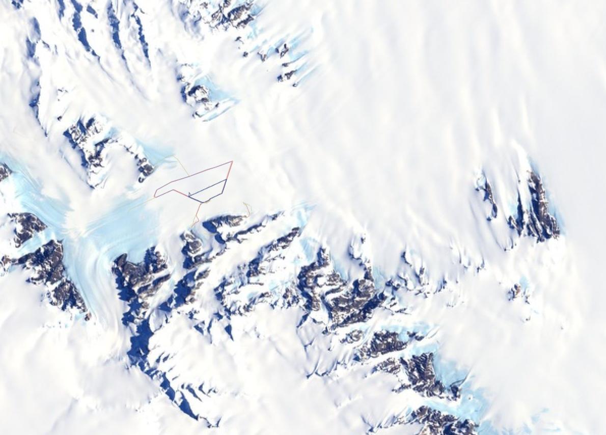 antarctica-strava-map